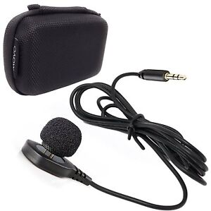 Movo LV-M5 Discreet Hidden Pin Lavalier Microphone for DSLR Cameras & Camcorders