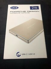 LaCie Porsche Design Slim 2TB, USB-C. PRECINTADO!