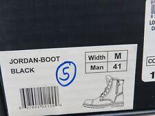 London Fog Jordan Mens Fur-Lined Waterproof Winter Boot - Black Size:41 (WY5)