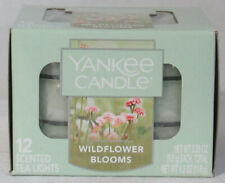 Yankee Candle 12 Scented Tea Light T/L Box Candles WILDFLOWER BLOOMS