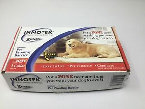 Innotek Extra Receiver Collar for Zones Pet-Containment System, ZND-1200 - NEW!