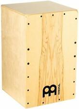 Cajon Meinl Percussion Snarecraft Instrument Trommel Drumbox Snare Birke braun