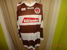 """FC St.Pauli Original Reusch Heim Langarm Trikot 1995/96 """"Böklunder"""" Gr.XL/XXL"""
