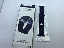 NEXT - Sport Band Watch Strap for Apple Watch 42mm series 3 2 1 - Midnight Blue