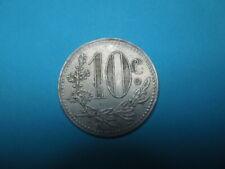 J563  COIN ALGERIA   FRANCE  1919  10  CENT.  TOKEN  CHAMBRE  DE  COMMERCE