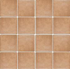 Piastrelle pavimento esterno gres porcellanato antiscivolo 15x15 Elba cotto