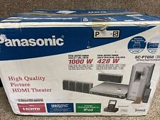 Panasonic SC-PT650 DVD 5-Disc Changer 5.1 Home Theater System 1000W New In Box