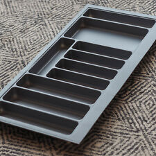 Grey Textured Cutlery Tray for 1000mm Drawer | Blum Metabox | Kitchen Storage