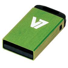 V7 USB Nano Stick 16GB Green Mem