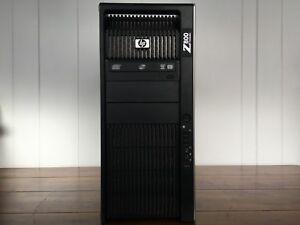 HP Z800 - 2x Xeon X5675@3.06GHz, 192GB, 400 GB SSD + 9 TB SAS, AMD HD 7870, W10P