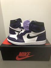 Air Jordan 1 Retro High OG Court Purple 2.0 Mens Size 10