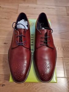 """MENS TED BAKER """" MARAR"""" DERBY SHOES. SIZE 10"""