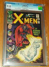 X-MEN UNCANNY #18 CGC 9.0 MARVEL MAGNETO APP CREAM TO OFF WHITE PAGES (SA)