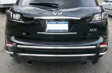 WynnTech Rear Double Pipe Bumper Guard for Infiniti FX35/50 2009-2013
