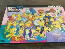 The Simpsons Fun Board Game Springfield Bart Homer Lisa Marge Simpson unplayed