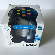 Hasbro iDog Clip MP3 iPod Phone Portable Light Up Speaker - White, New in box!