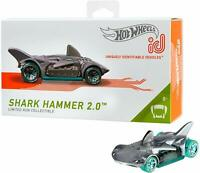 2019 Hot Wheels id SHARK HAMMER 2.0 ☆zamac☆Uniquely Identifiable☆Series 1