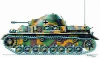 Planet Models 1:72 WWII German Panzer IV w/ Kugelblitz Turret - Resin Kit #MV023