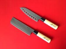 2pcs GoldSun Deba Knife Home Bar Chef Kitchen cook Sashimi Japanese IMO