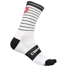 Castelli Cycling Podio Doppio 13 Socks -white/black -S/M