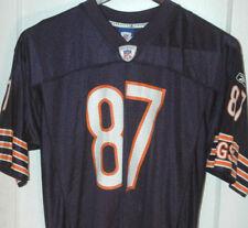 MUHSIN MUHAMMAD Reebok NFL Equipment CHICAGO BEARS FOOTBALL JERSEY #87 Large VTG
