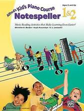 Alfred's Kid's Piano Course Notespeller, Bk 1 & 2  : Music Reading Activities...