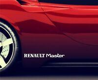 2x Seitenaufkleber Aufkleber Passt Renault Master Sticker Emblem Logo ER80