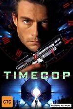 Timecop DVD Jean Claude Van Damme New and Sealed Australia Region 4