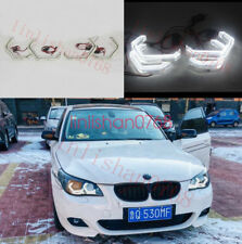 4x DTM M4 Iconic Style LED Angel Eye Kit For BMW E60 E61 525i 530i 535i 2003-10