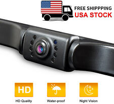 eRapta Backup Camera Waterproof License Plate Nite View Vision Car Reverse Rear