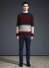 Yigal Azrouel Men Ombre Striped Sweater