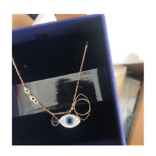 Swarovski official authorized necklace 5172560 38cm DUO EVIL EYE