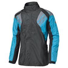 Held Haze Regenjacke Gr. 3XL - Schwarz Blau, Motorrad Regen Jacke