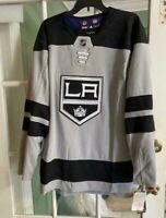 Men's Authentic Adidas NHL Los Angeles Kings Hockey Jersey DP9108 Size 52 NWT