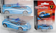Majorette 212053054 Lamborghini Gallardo LP 560-4 Polizia blau/weiß 113 / Polizi