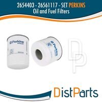 2654403 - 26561117 Perkins Sets Oil and Fuel Filter