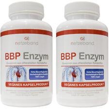 BBP Enzyme Bromelain Betain Papain 180 Kapseln (vegan) 2 Dosen