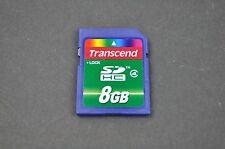 Transcend 8GB Class 10 SDHC Memory Card DH9046