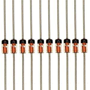 10 x 1N34A Germanium Point Contact Detector Diode FM AM TV Radio Detection 10pcs