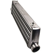 "UNIVERSAL TUBE AND THIN ALUMINUM TURBO 27""x7""x2.5"" FRONT MOUNT INTERCOOLER Sale"
