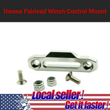 Alloy Metal Hawse Fairlead Winch Control Mount For RC 4WD D90 1//10 RC CrawlerT2P
