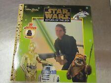 NEW Star Wars Return of the Jedi  Golden Books 1999