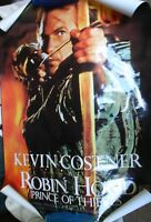 1 x LARGE MOVIE POSTER KEVIN COSTENER ROBIN HOOD
