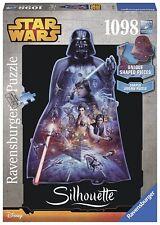 Ravensburger Star Wars, Darth Vader-Silhouette Jigsaw Puzzle (1098 Piece)