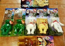 """McDonalds Ty Beanie Baby with """"RARE"""" errors Lot of 7. Potential value of 56,000!"""