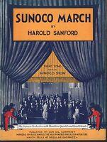 Sunoco March  Sheet Music