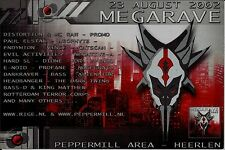 (RAVE FLYER 2002) MEGARAVE @ HEERLEN.NETHERLANDS.PEPPERMILL.