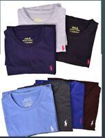 New Men Polo Ralph Lauren Crew Neck T-Shirt S M L XL 3XL 4XL 5XL - STANDARD FIT.