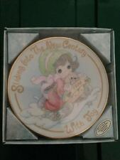Sliding Into The New Century With Joy Precious Moments Mini Collector's Plate