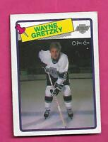 1988-89 OPC # 120 KINGS WAYNE GRETZKY VG CARD   (INV# D5795)